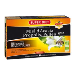 Miel Propolis 20 x 15 ml BIO SUPERDIET