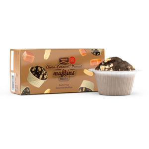 Mini Muffins Chocolate Caramelo y Cacahuete Prozis 30g