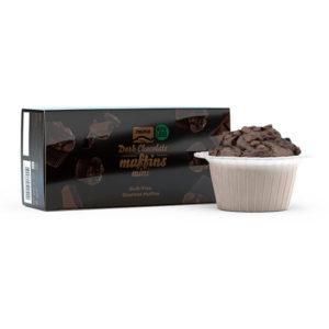Mini Muffins Dark Chocolate Prozis 30g