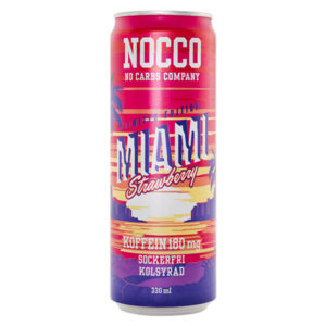 NOCCO Miami Strawberry 330 ml