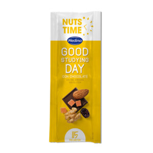 Nuts Time Good Studying Day con Chocolate 25g