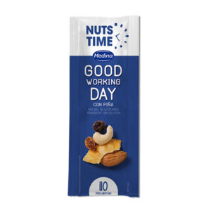 Nuts Time Good Working Day con Piña 25g