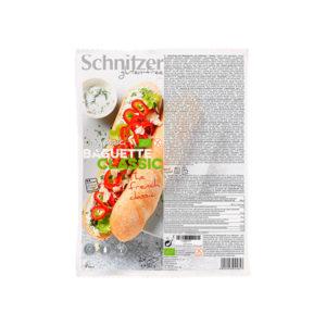 Organic Baguette classic (2x180 g) Schnitzer