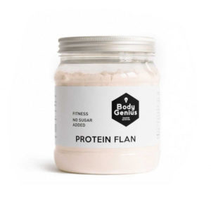 Protein Flan Cookies and Cream 275g My Body Genius