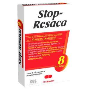Stop-Resaca 15 caps