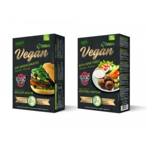 Protein Vegan Burger Natural Zero 4